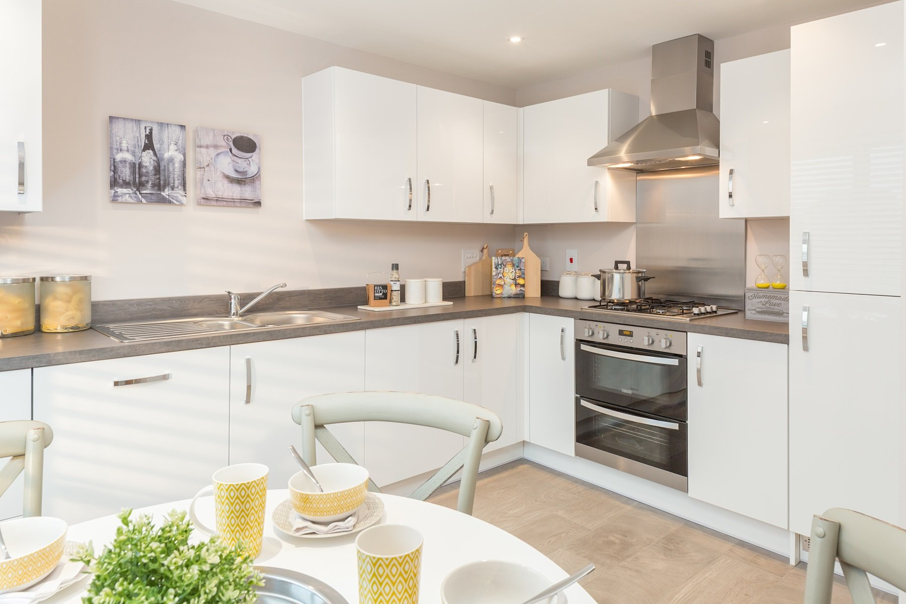 TW Exeter - Rackenford Meadow - Flatford example kitchen